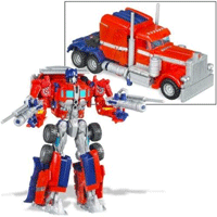 Transformers Figures - Voyager Optimus Prime