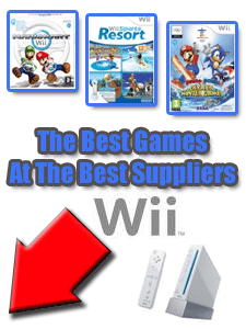 Wii Games At Top UK Suppliers