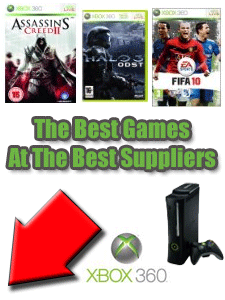 Xbox 360 Games At Top UK Suppliers